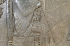National Museum of Iran - Throne Relief - King Darius the Great