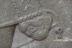National Museum of Iran - Throne Relief - Persian Shortsword Akinakes