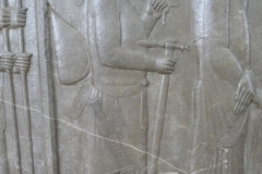 National Museum of Iran - Throne Relief - Royal Armorer