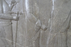 National Museum of Iran - Throne Relief - Royal Treasurer