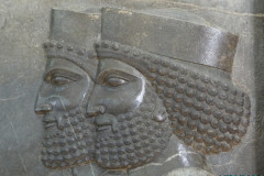 National Museum of Iran - Throne Relief - Soldiers