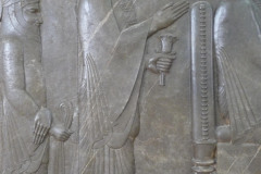 National Museum of Iran - Throne Relief - Xerxes I