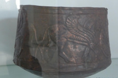 National Museum of Iran - Bronze Vessel Beaker - Lion Motif