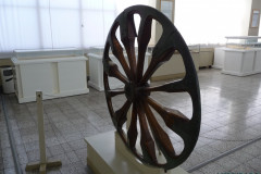 National Museum of Iran - Wheel Wood