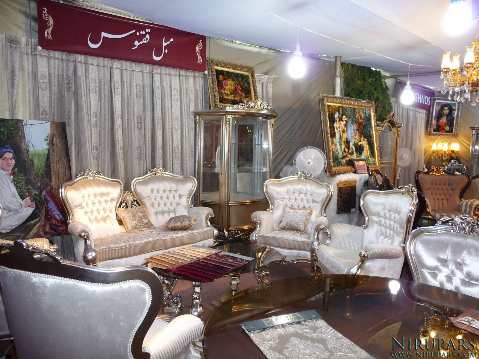 Niavaran Palace Complex - Exhibition - Persian Furniture