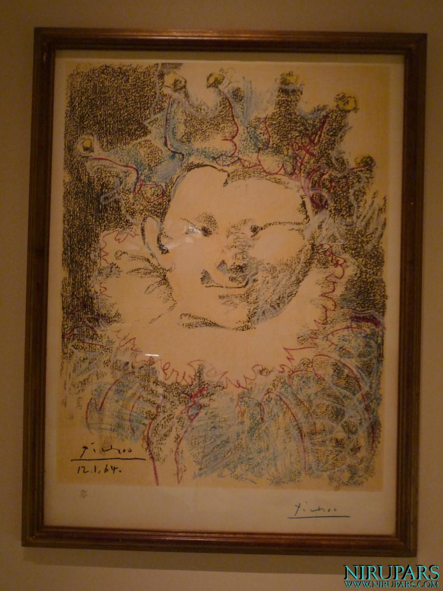Niavaran Palace Complex - Jahan Namah Museum - Painting - Clown