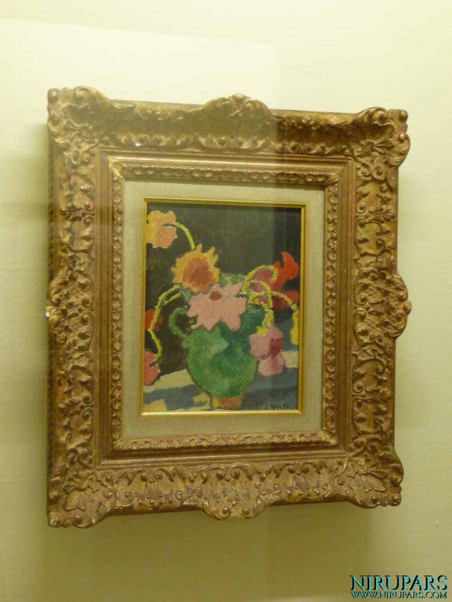 Niavaran Palace Complex - Jahan Namah Museum - Painting - Fleurs