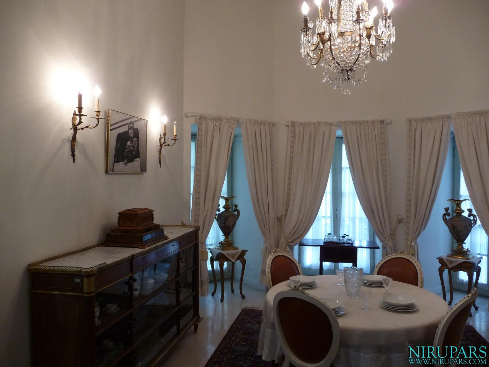 Niavaran Palace Complex - Kushak Pavilion - Dining Room
