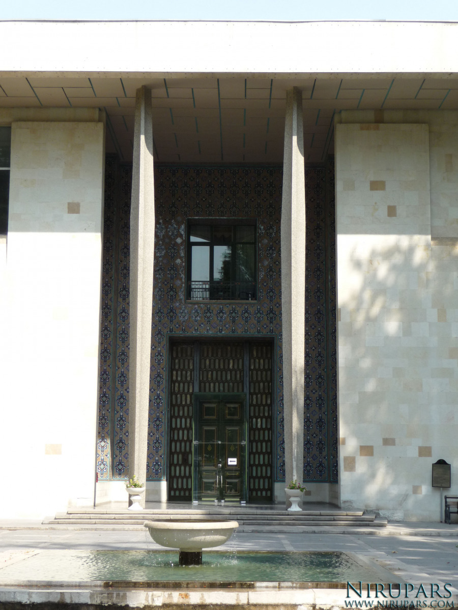 Niavaran Palace Complex - Mansion Entrance