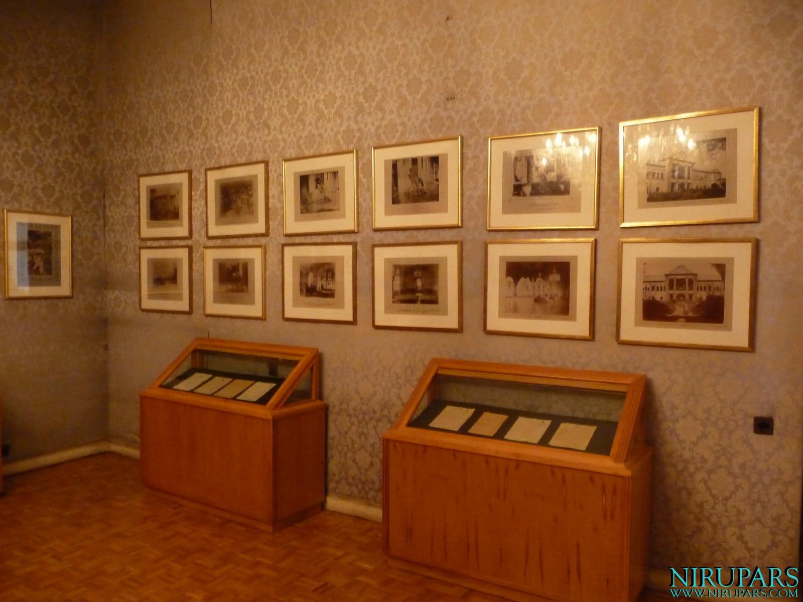 Niavaran Palace Complex - Sahebqaranieh Palace - First Floor - Exhibition