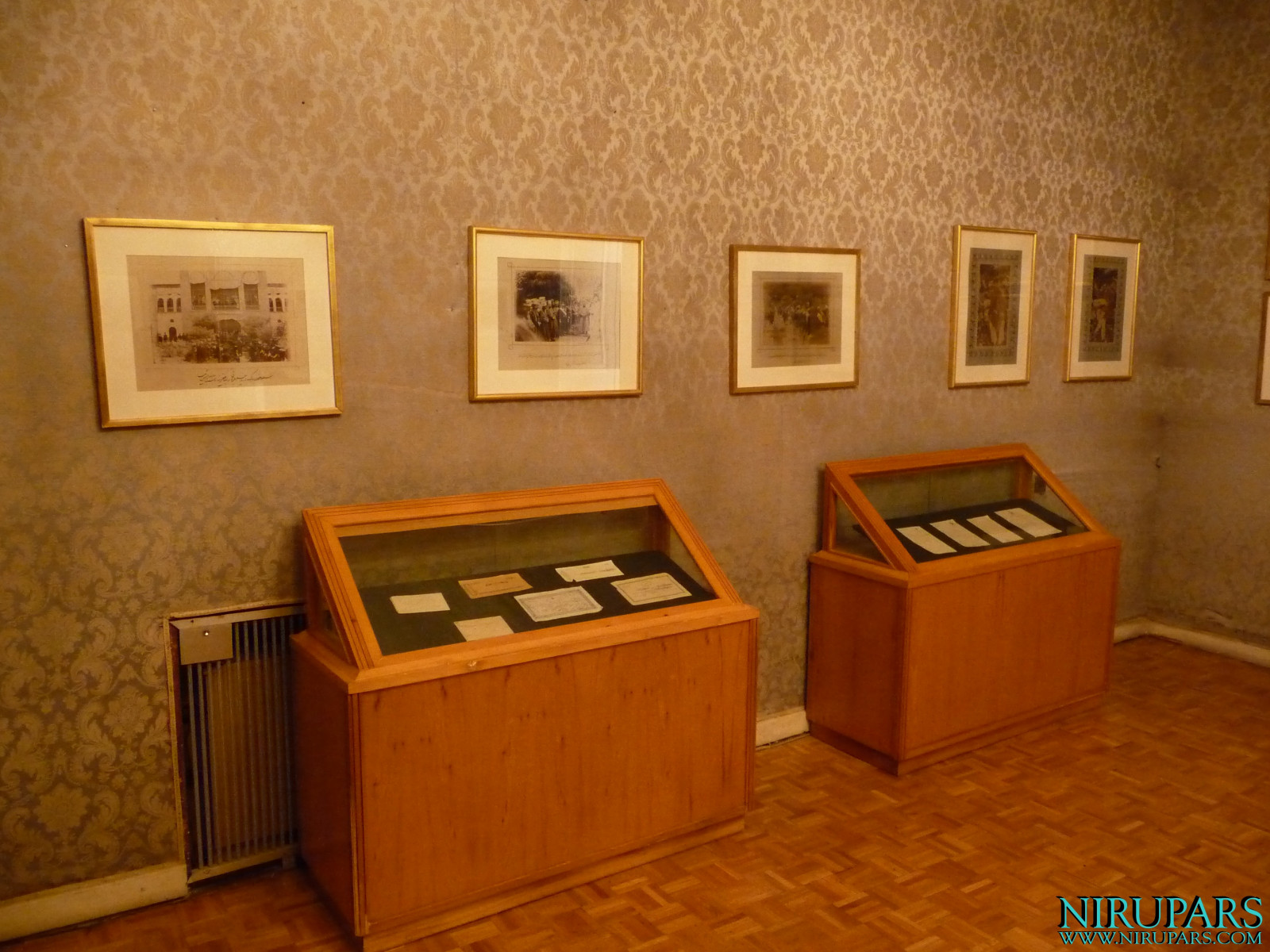 Niavaran Palace Complex - Sahebqaranieh Palace - First Floor - Exhibition