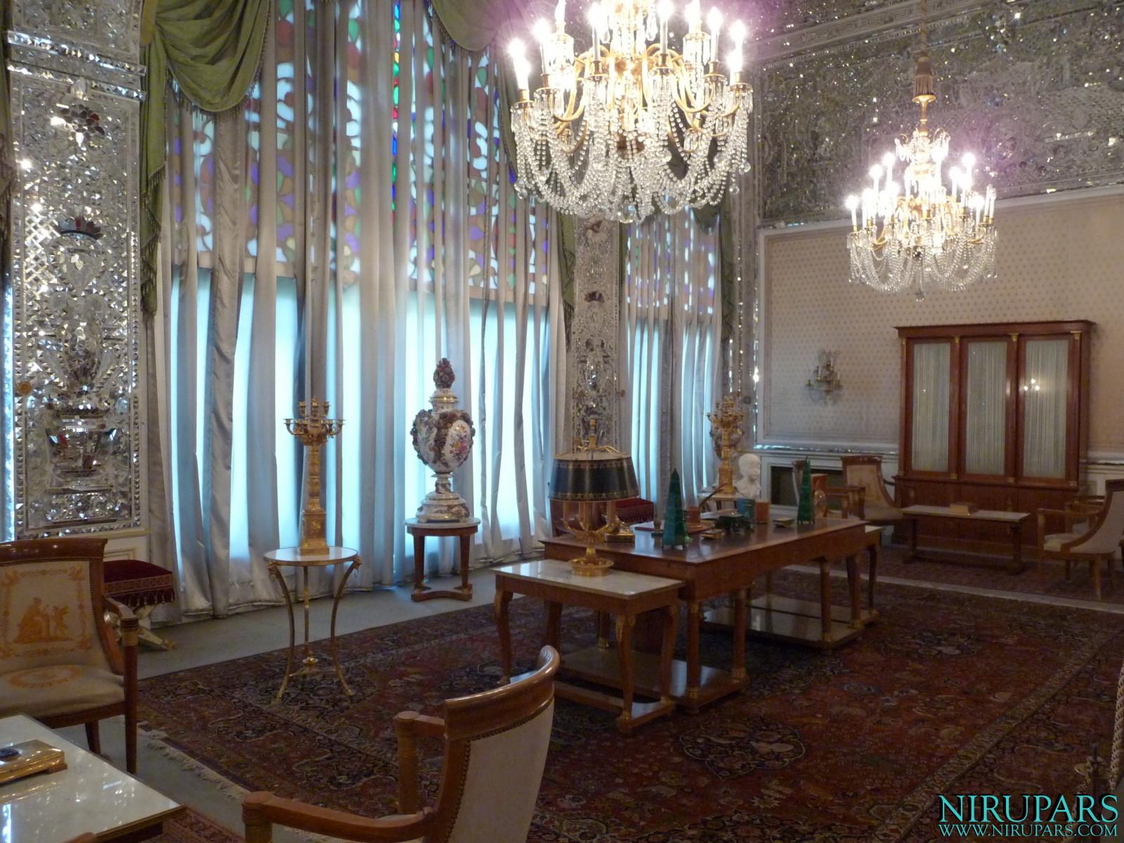 Niavaran Palace Complex - Sahebqaranieh Palace - Imperial Hall