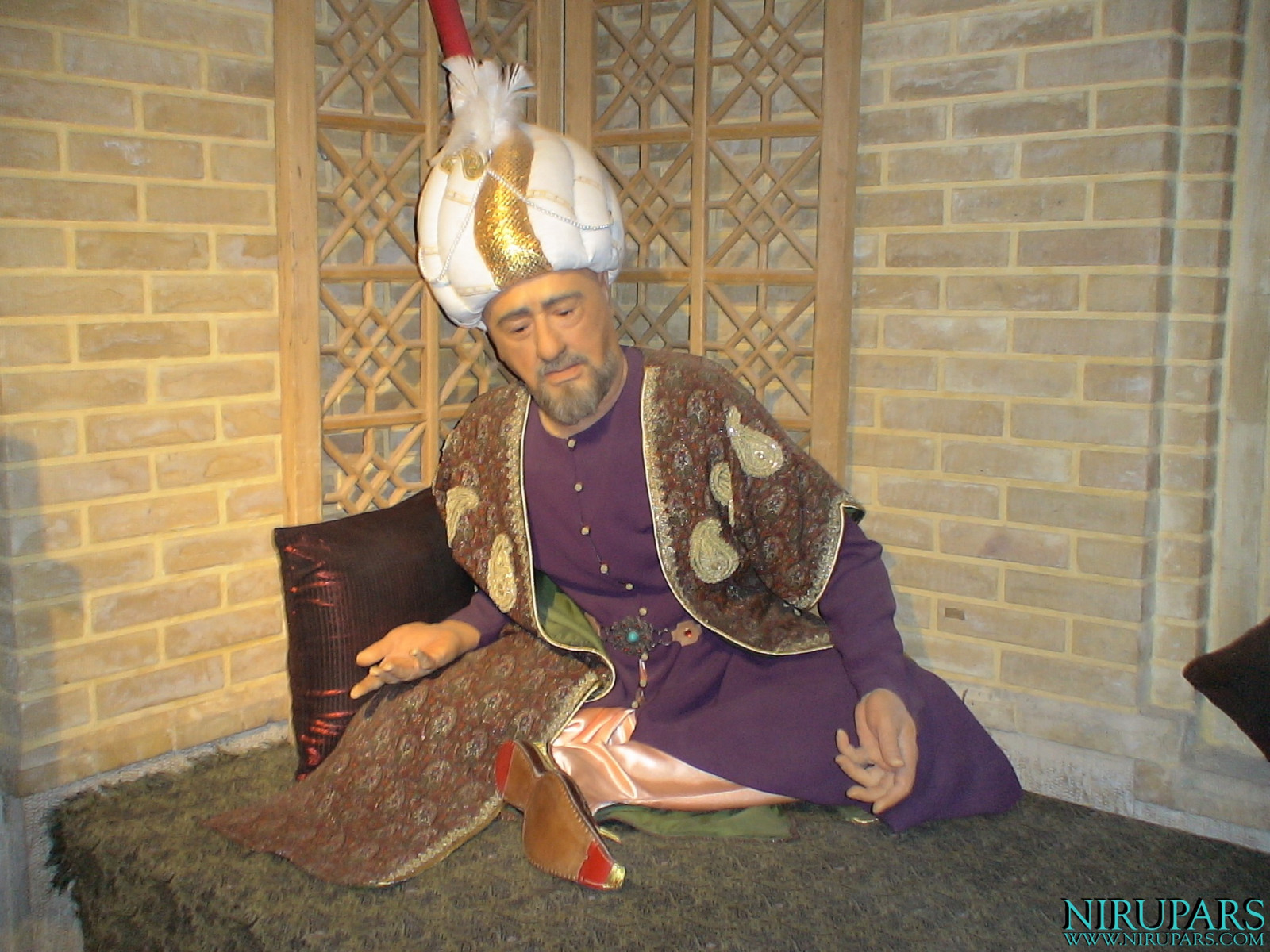 Pars History Museum - Figure - Baba Faqani Shirazi