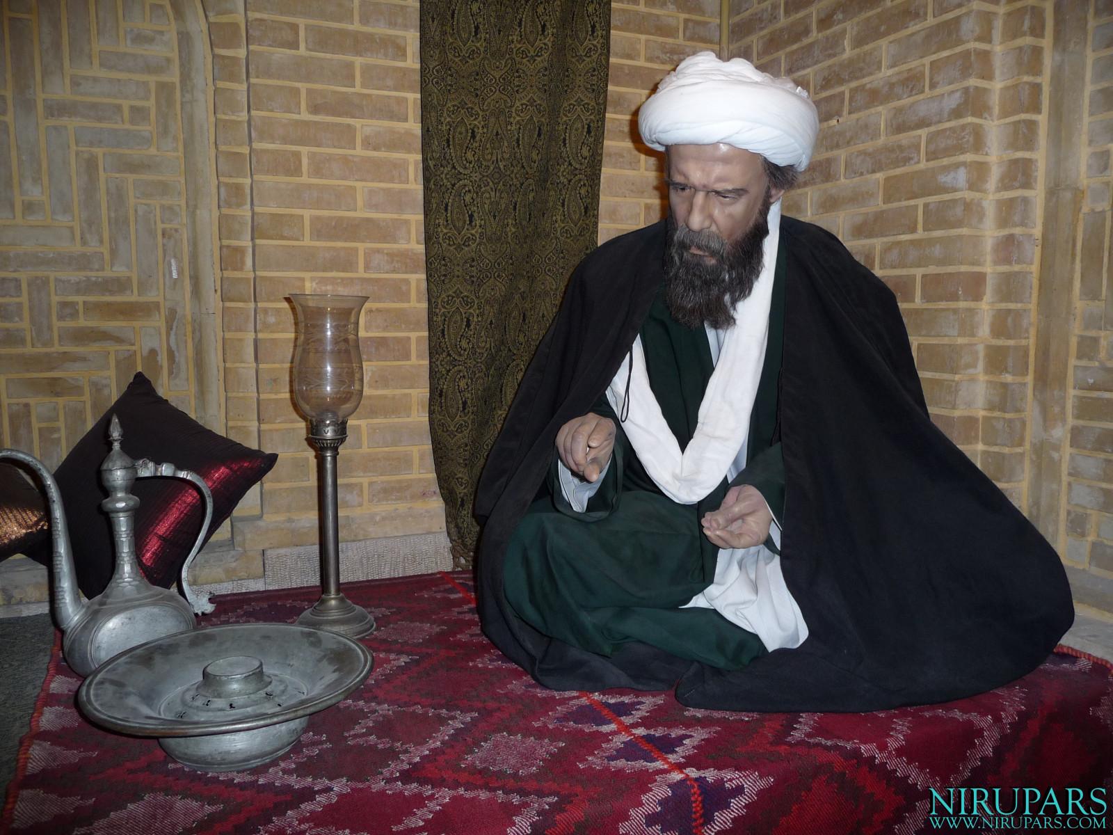 Pars History Museum - Figure - Mollah Sadra Shirazi