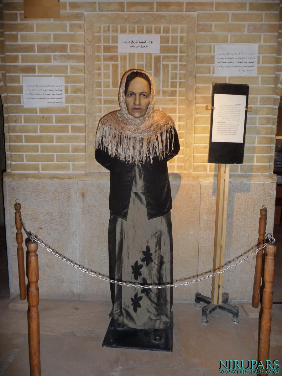 Pars History Museum - Figure - Zinat al-Molk