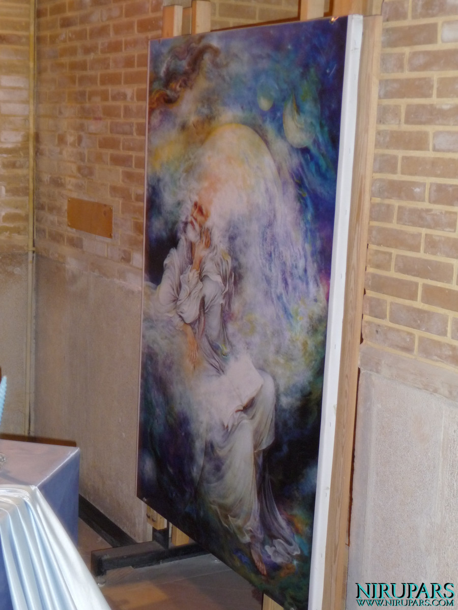 Pars History Museum - Painting - Hafez