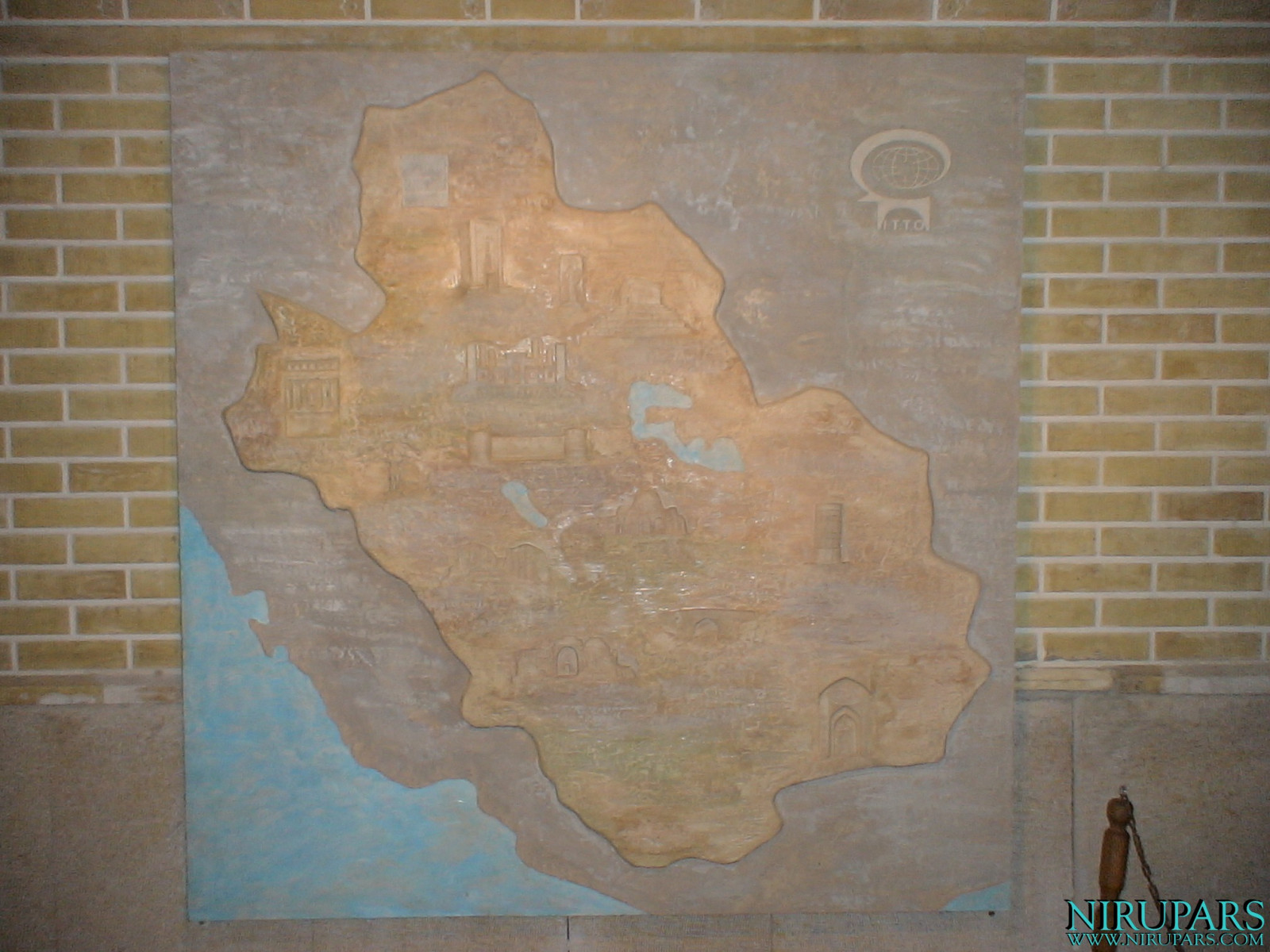 Pars History Museum - Relief - Map Pars