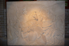 Pars History Museum - Relief - Persians Greeks Fightscene