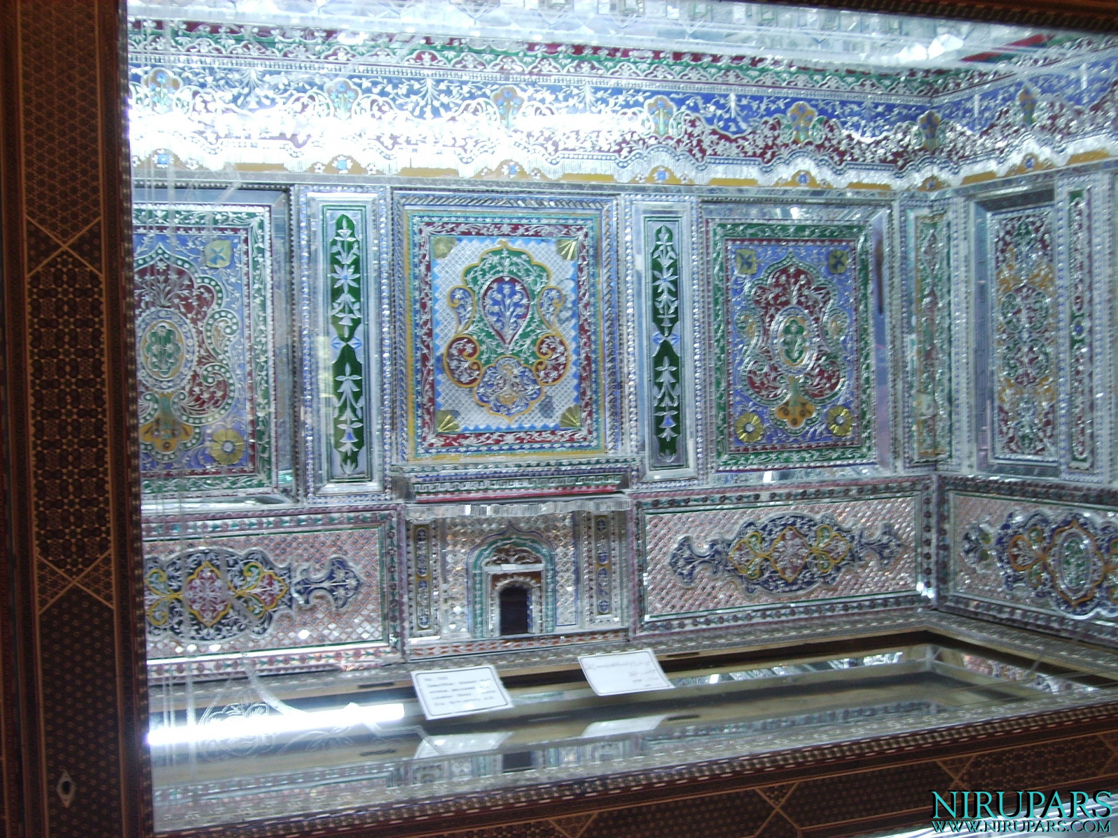Pars Museum - Exhibition - Glass artwork