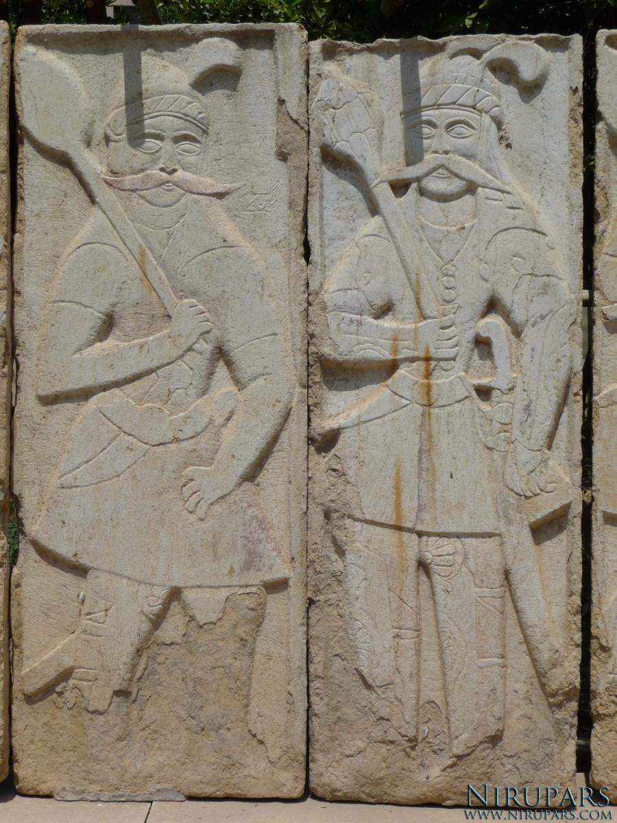 Pars Museum - Reliefs Men
