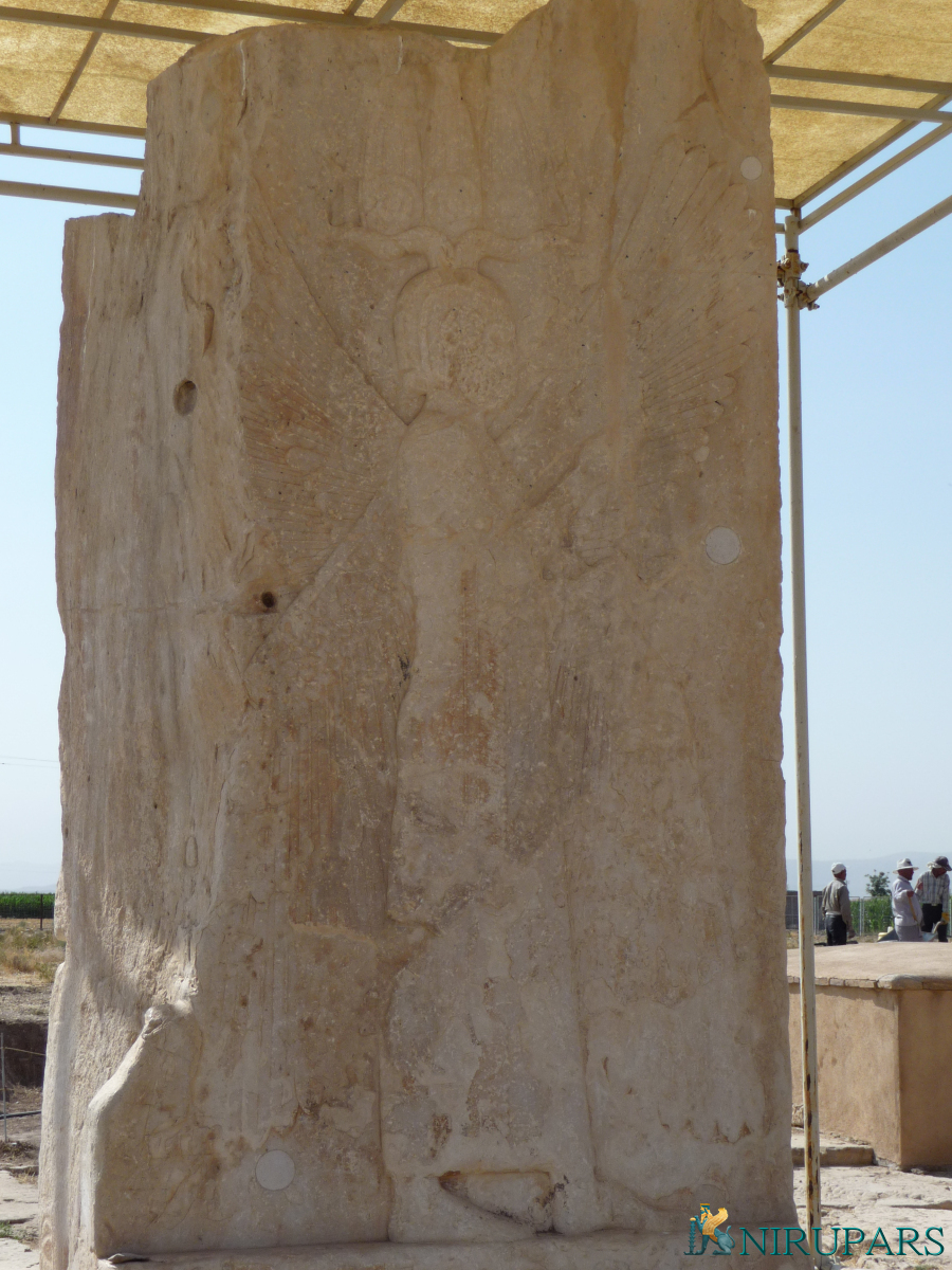 Pasargadae - Gate R - Relief - Cyrus the Great