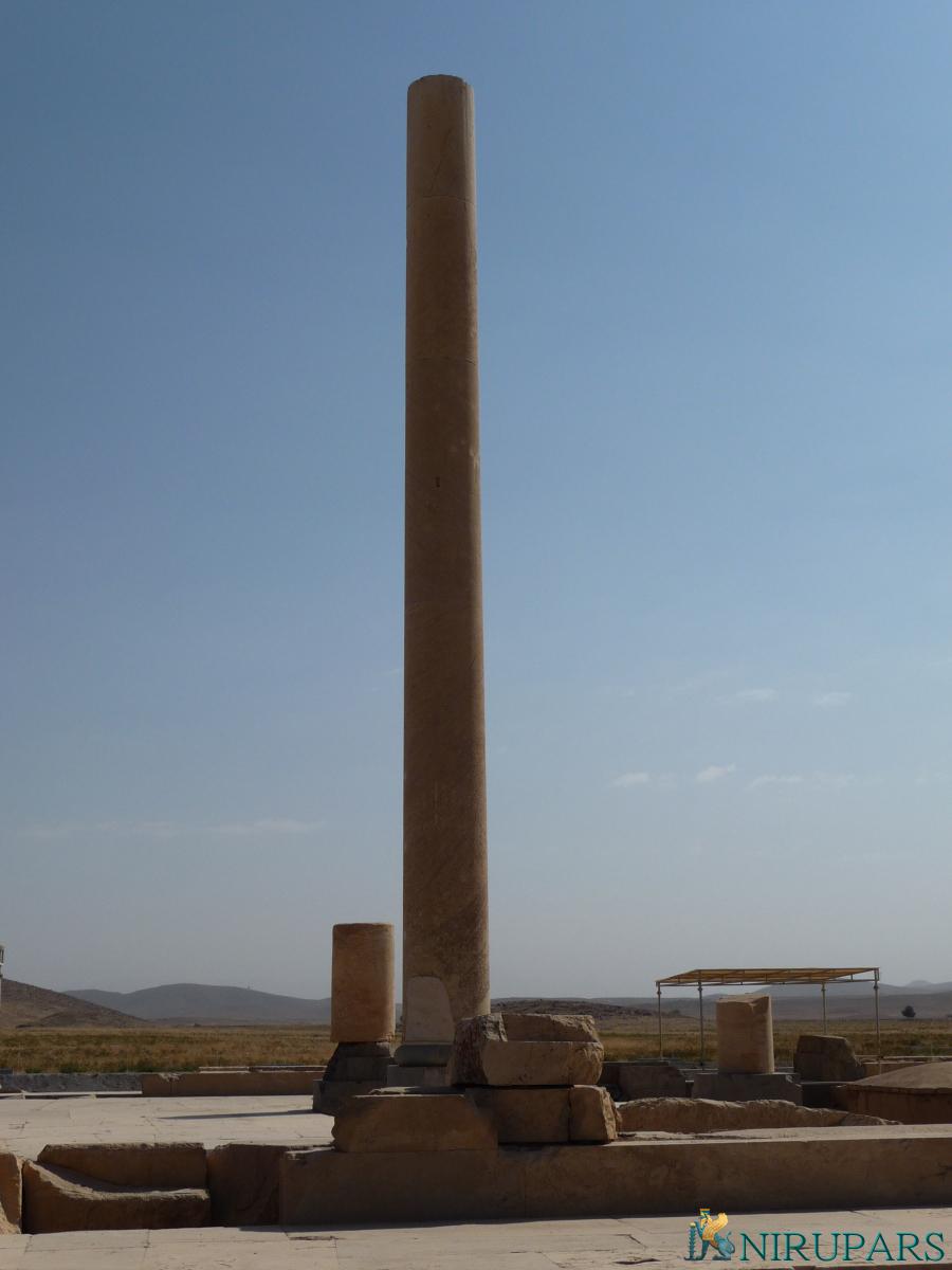 Pasargadae - Palace S - Audience Hall - Pillar