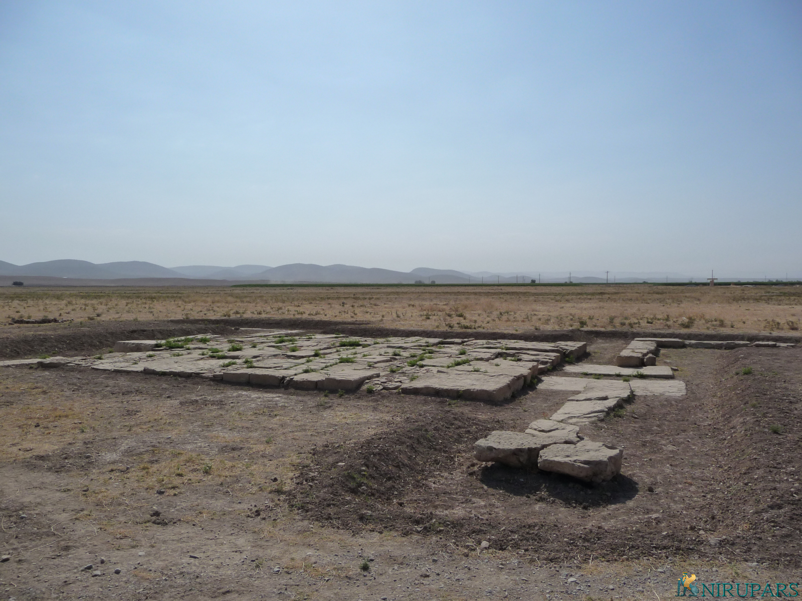 Pasargadae - Stone Pavillon
