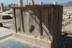 Pasargadae - Palace P - Gate Relief
