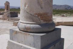 Pasargadae - Palace S - Audience Hall - Column base