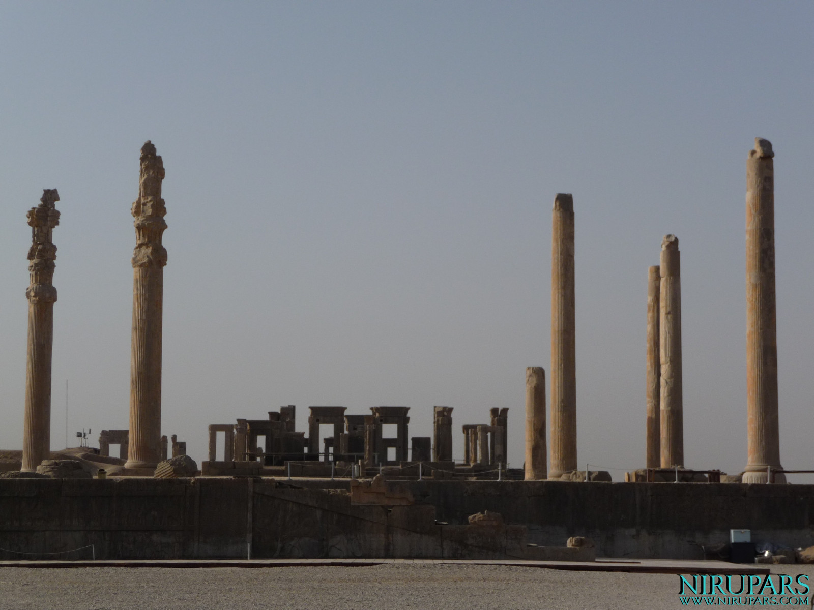 Persepolis - Apadana and Tachara Palace
