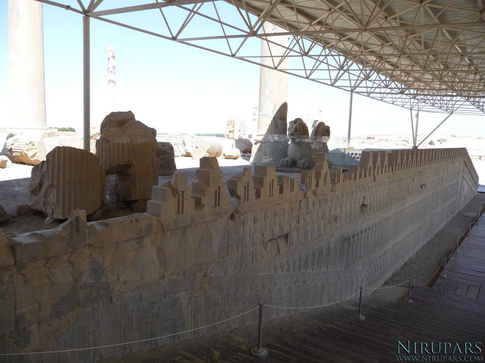 Persepolis - Apadana - East Portico