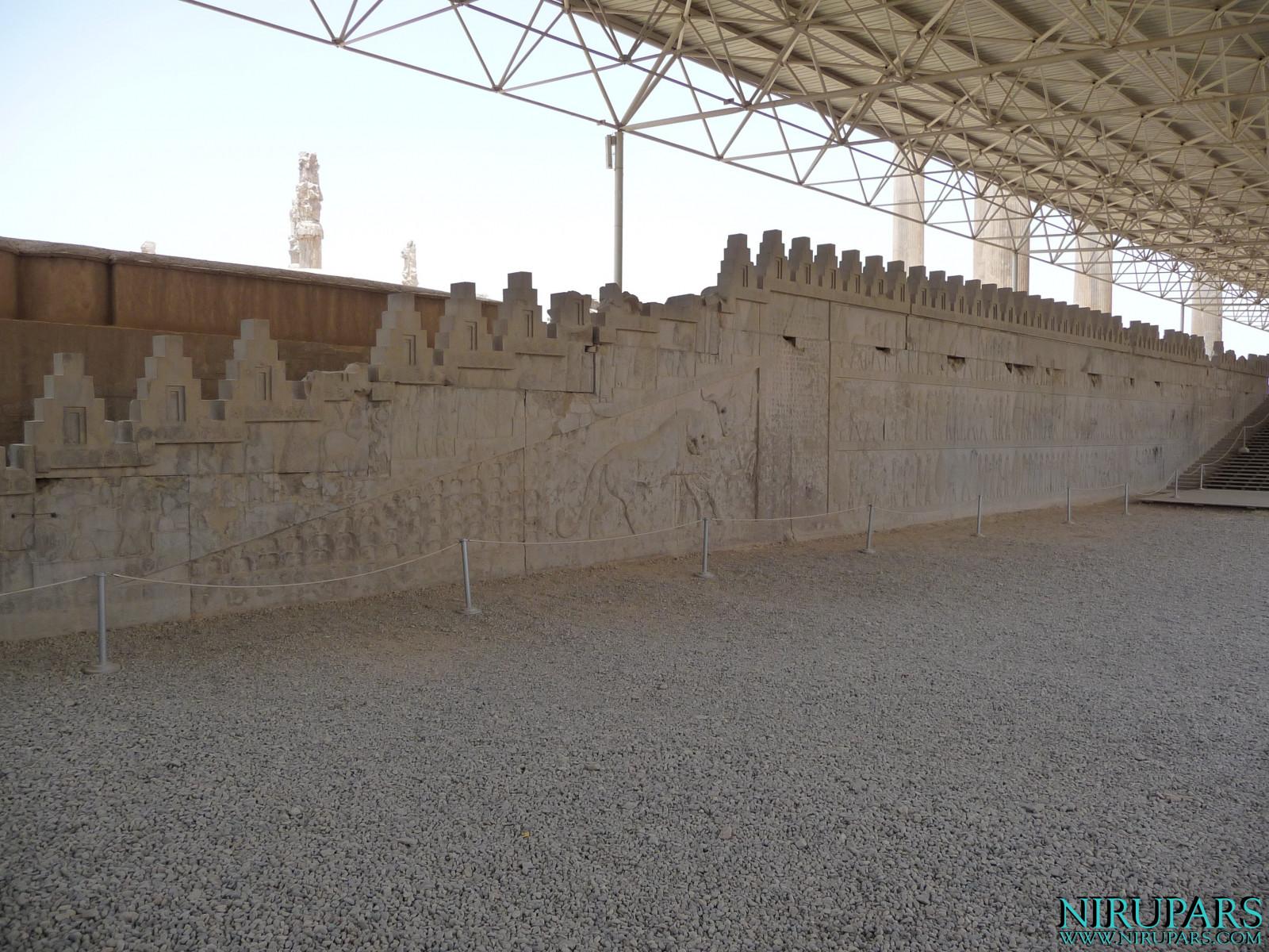 Persepolis - Apadana - East Portico - Relief