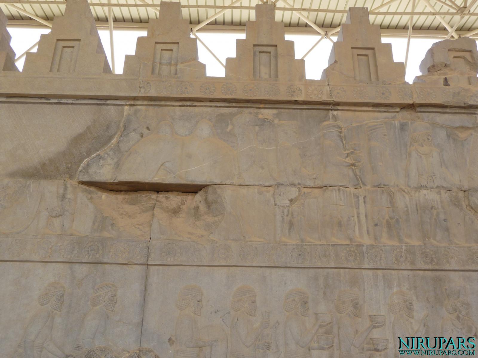 Persepolis - Apadana - East Portico - Delegation Aria