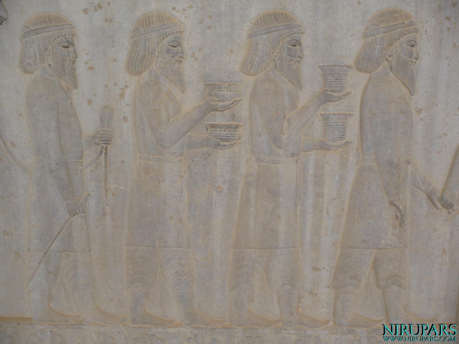 Persepolis - Apadana - East Portico - Delegation Drangiana Arachosia