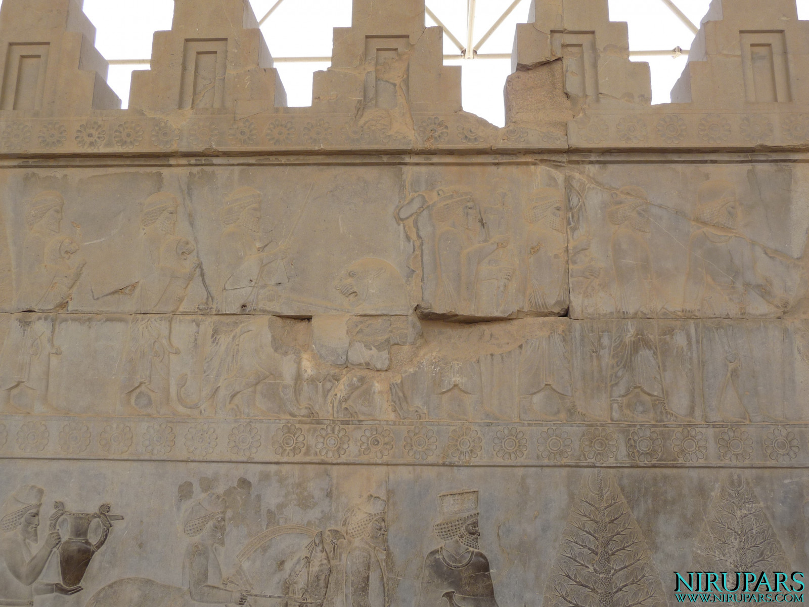 Persepolis - Apadana - East Portico - Delegation Elam