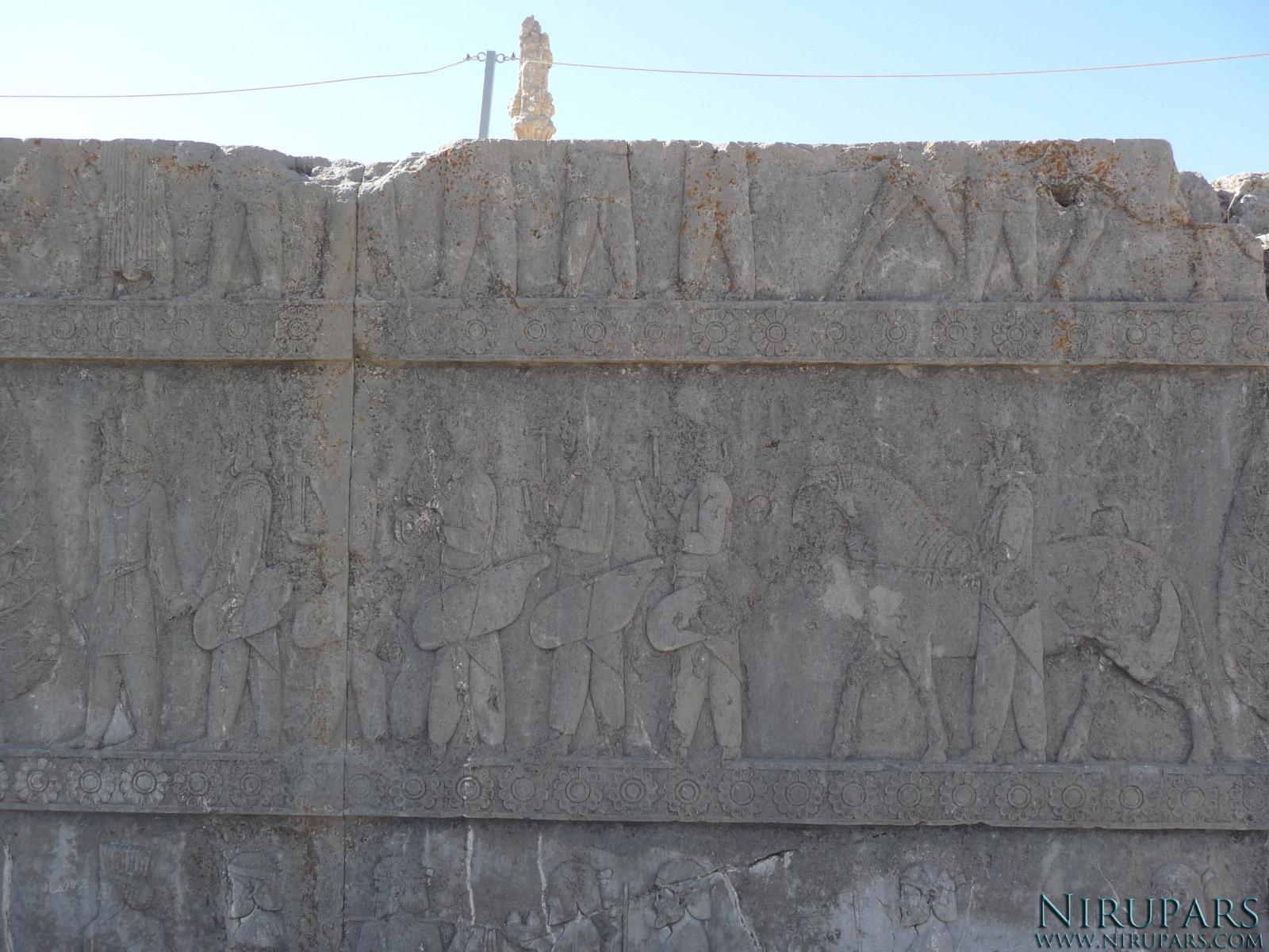 Persepolis - Apadana - North Portico - Delegation Sogdia Khorasmia