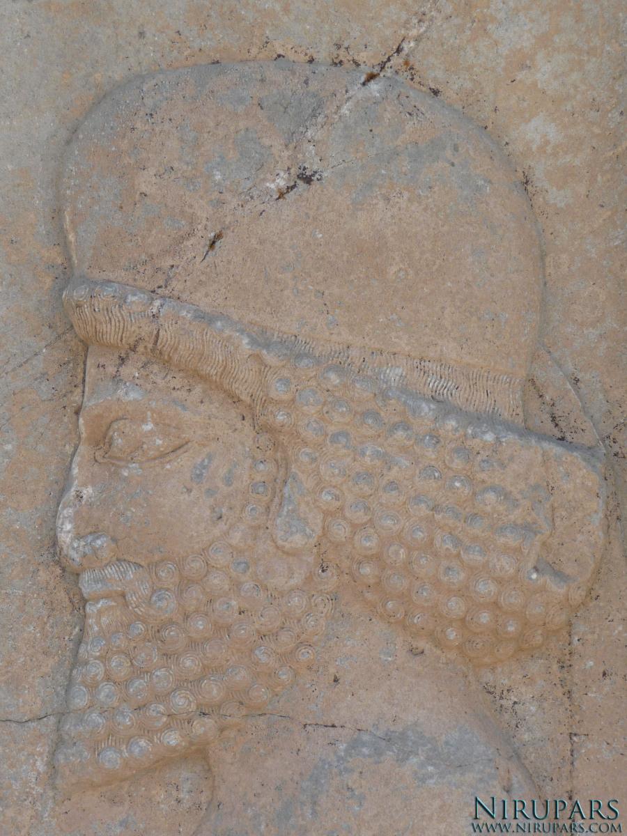 Persepolis - Apadana - North Portico - Median Soldier