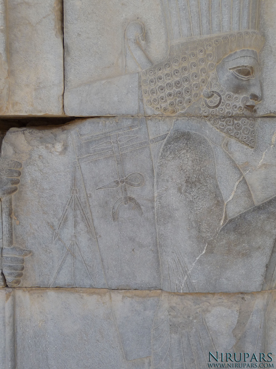 Persepolis - Council Hall Tripylon - Relief Elite Troops - Archer Bag
