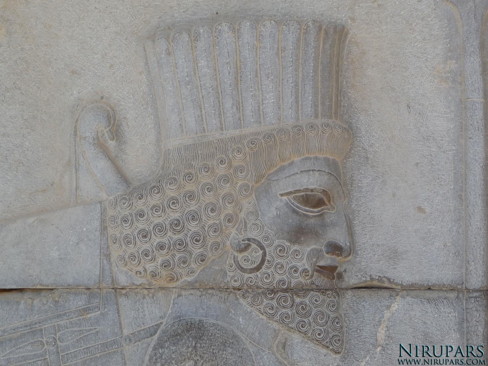 Persepolis - Council Hall Tripylon - Relief Elite Troop