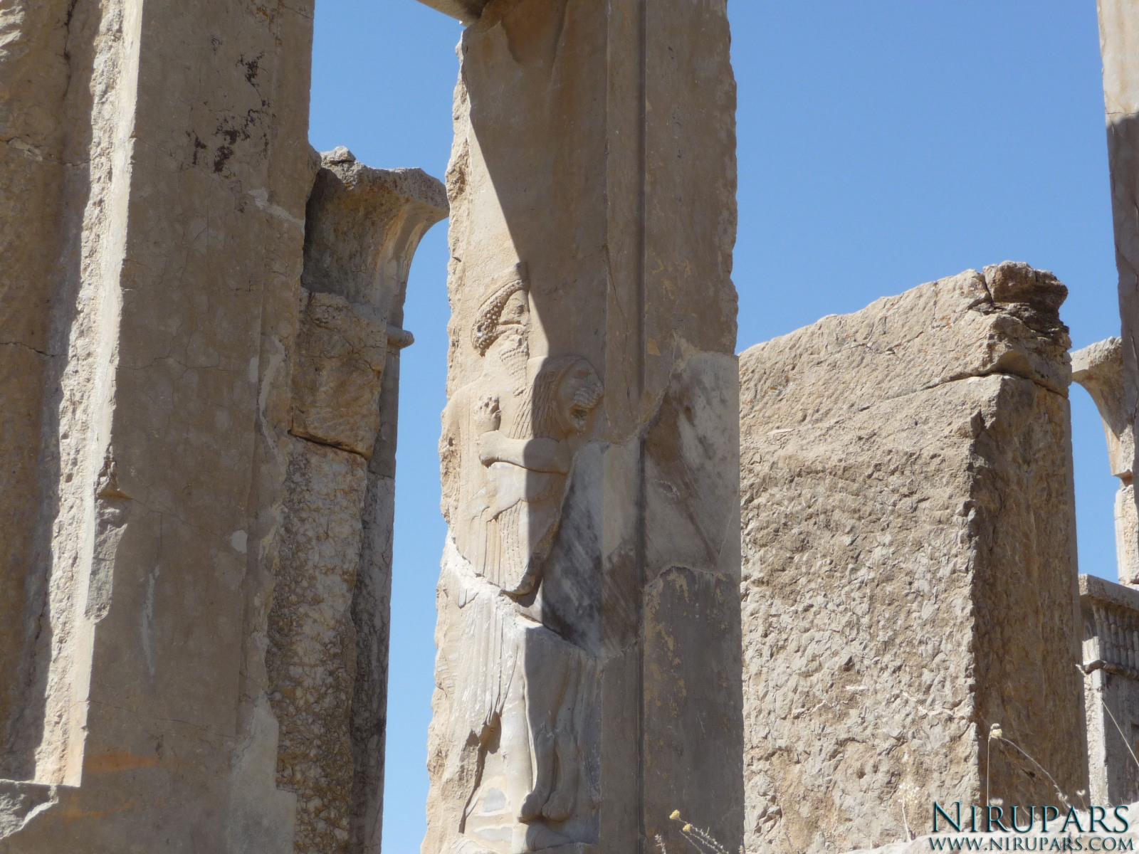 Persepolis - Darius Palace Tachara - King Darius vs Ahriman Fight