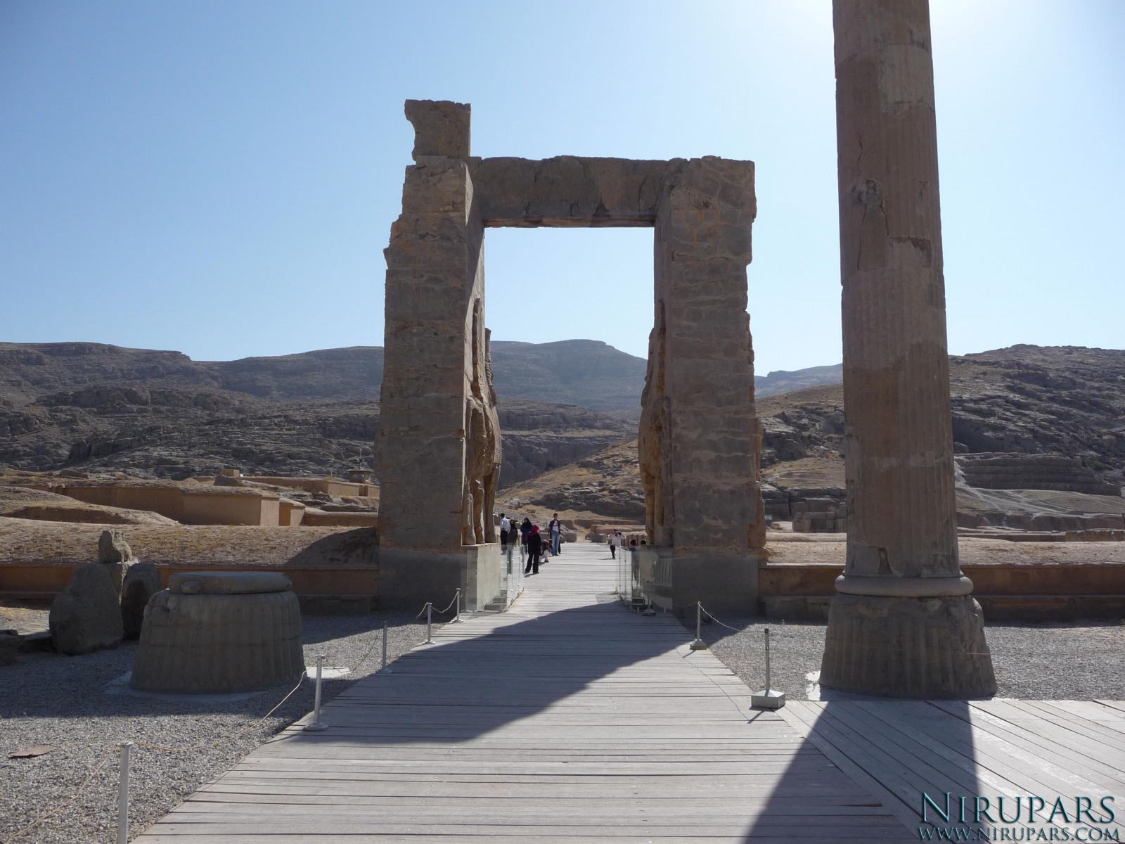 Persepolis - Gate of all Nations - East Exit