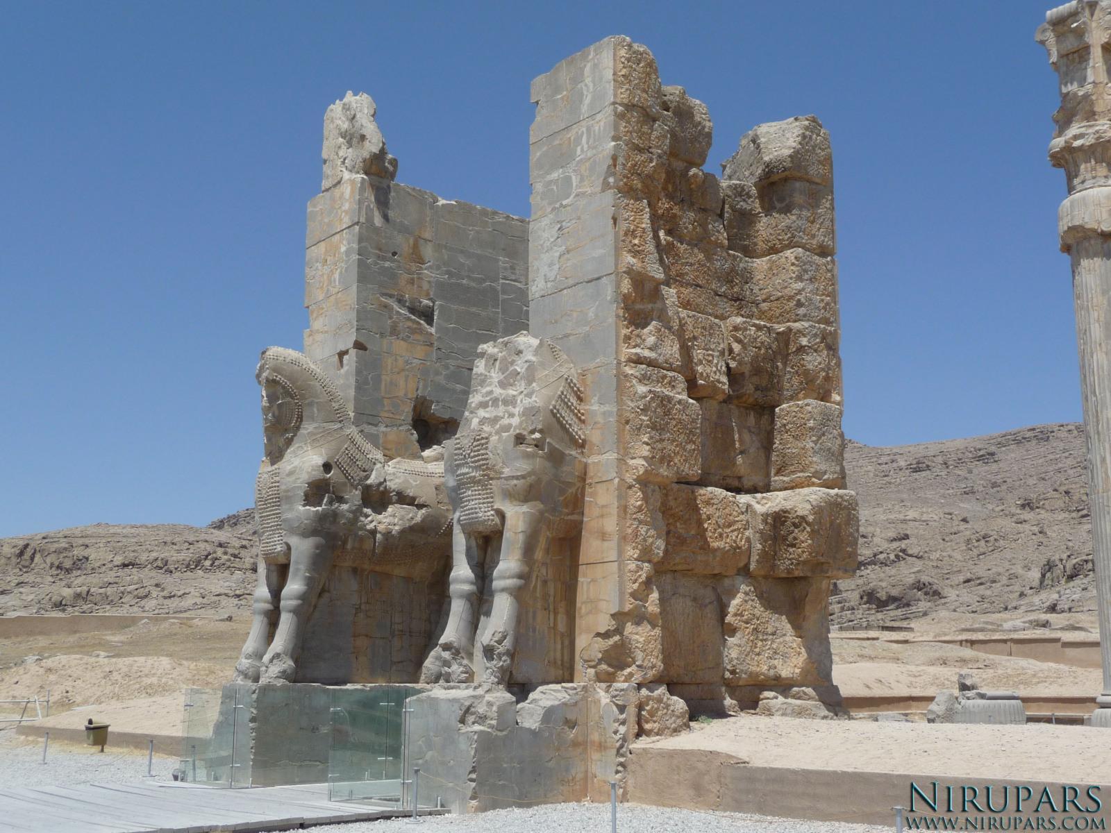 Persepolis - Gate of all Nations - Westside