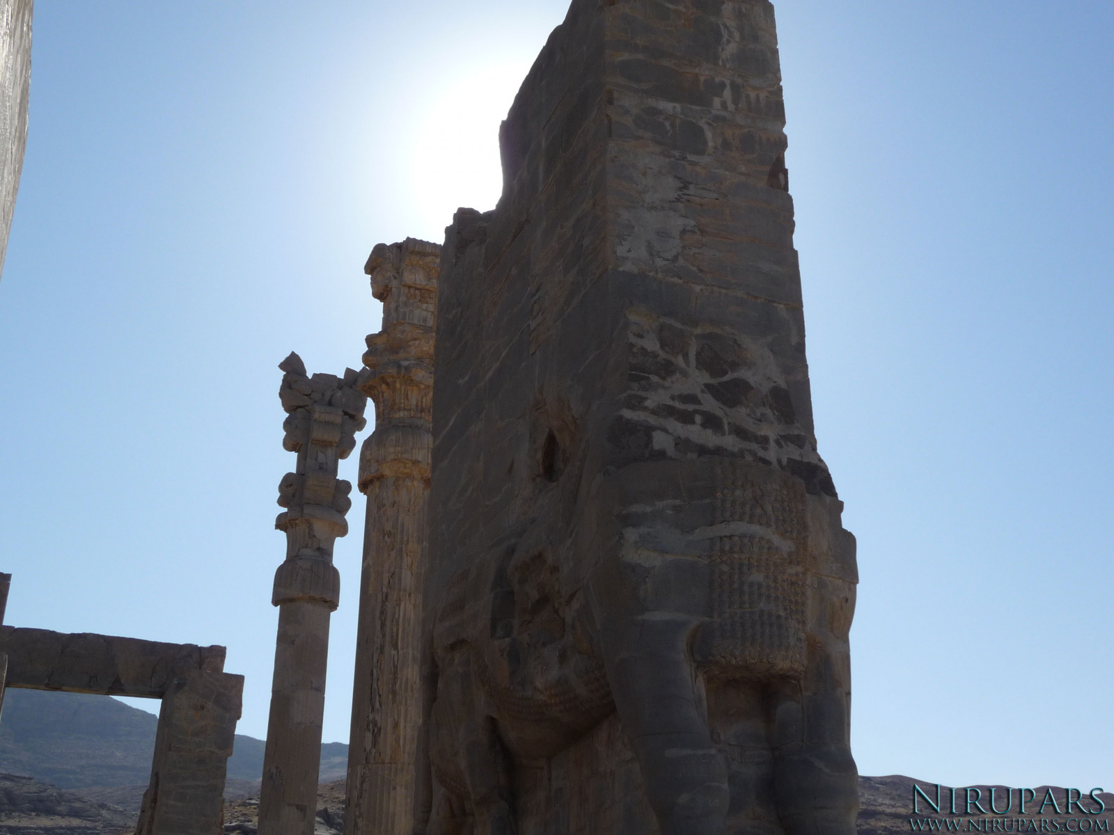 Persepolis_Gate_of_all_Nations_Westside_Bull_Reliefs_Right