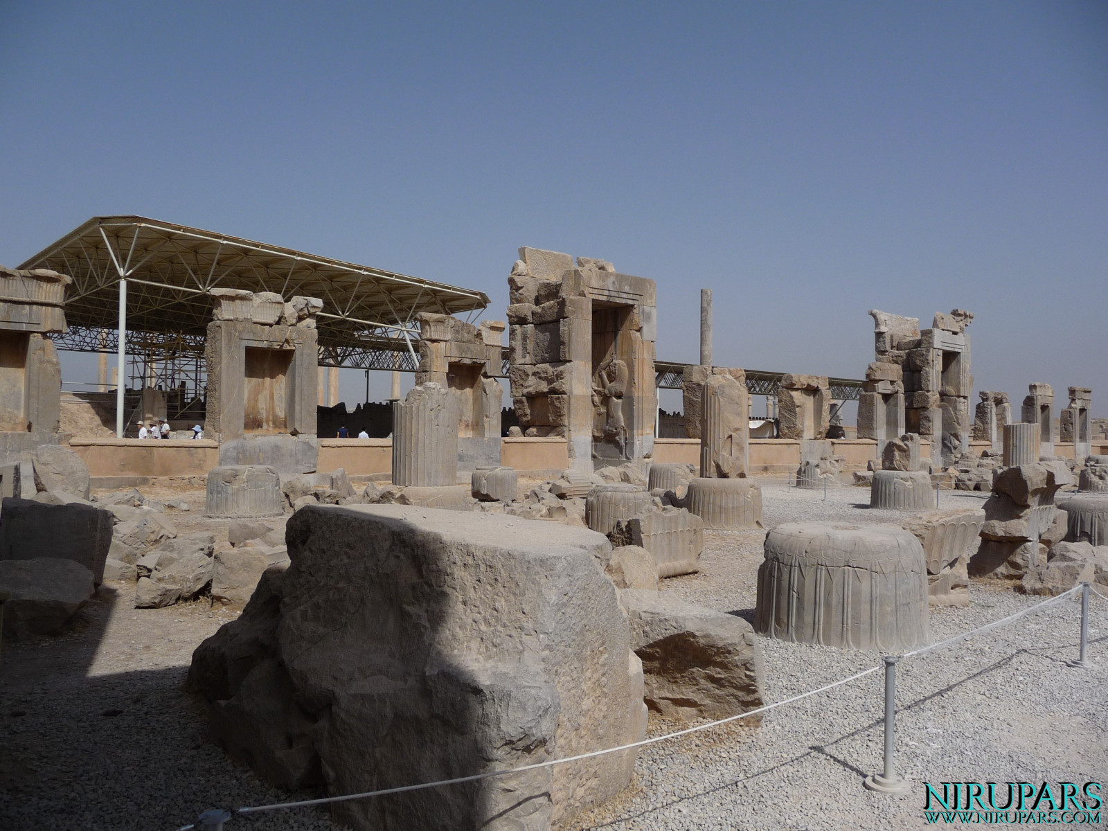 Persepolis - Hall of Hundred Columns