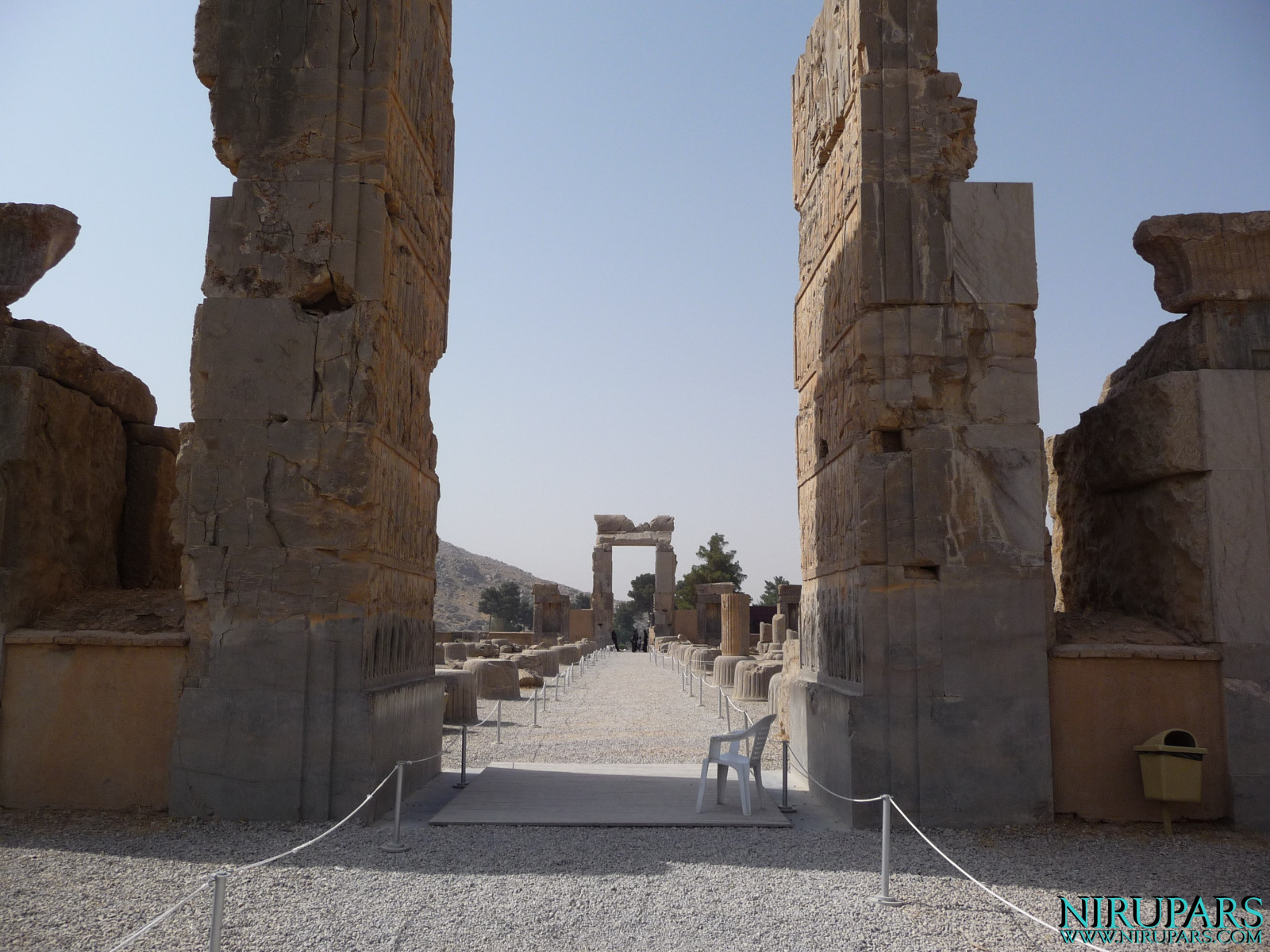 Persepolis - Hall of Hundred Columns - Entrance North