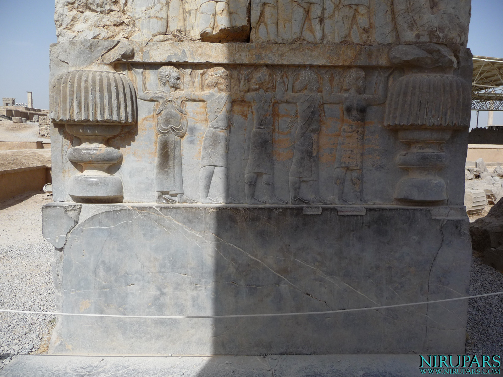 Persepolis - Hall of Hundred Columns - Relief Gate Frame - Carrier of the Throne