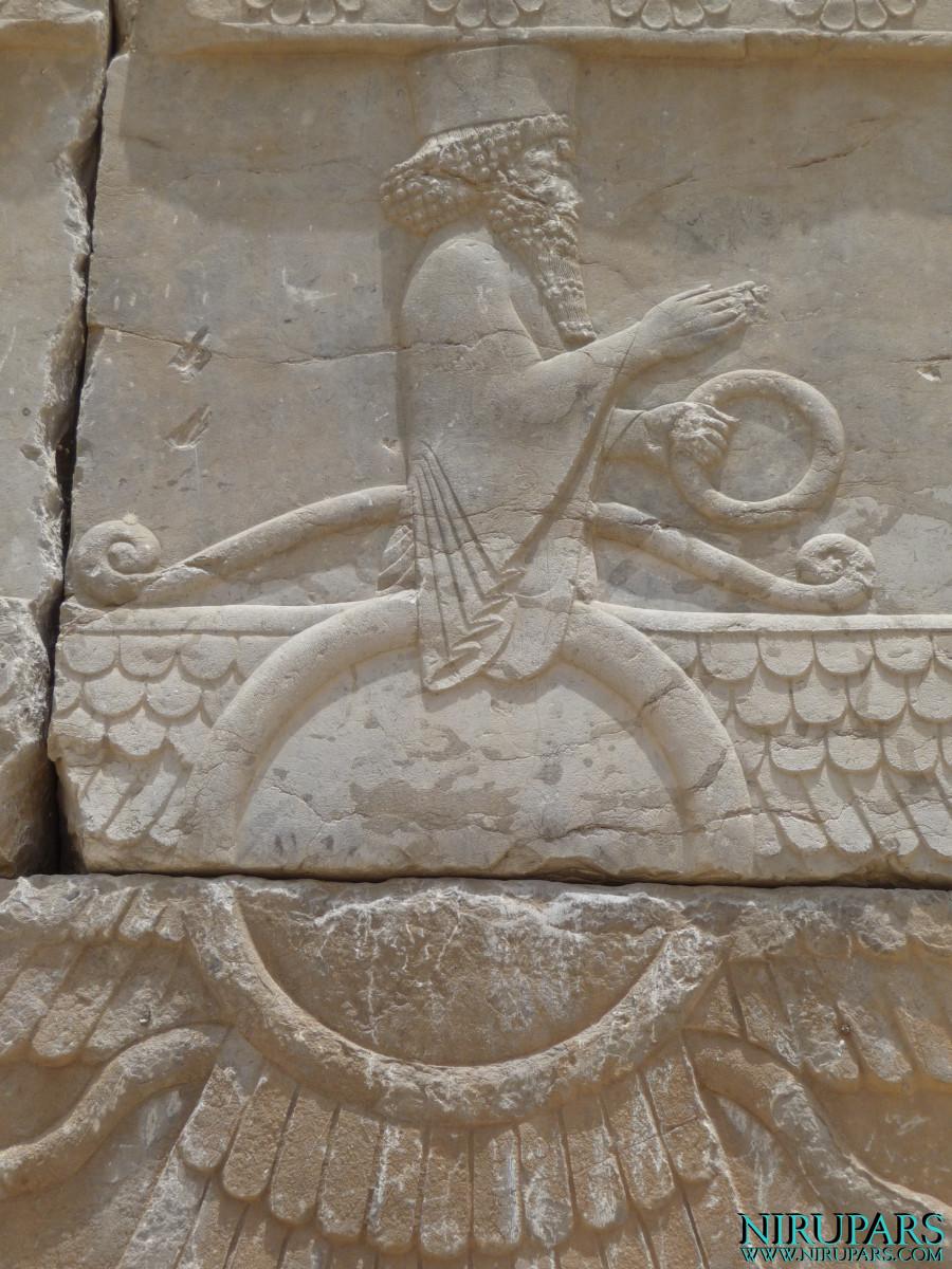 Persepolis - Relief - Entrance Xerxes Palace