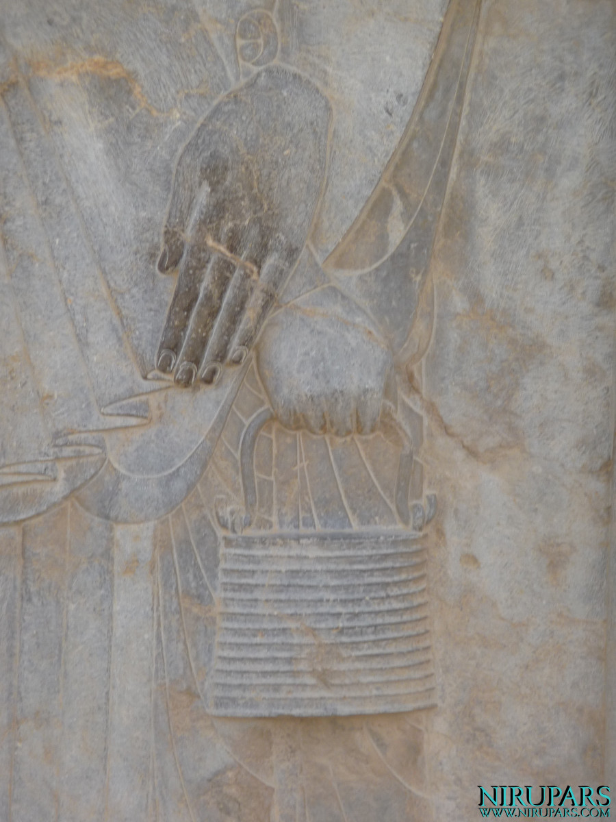 Persepolis Relief - Throne Relief - Coal Bucket - Incense
