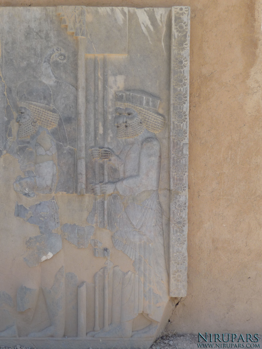 Persepolis - Relief - Throne Relief - Guards