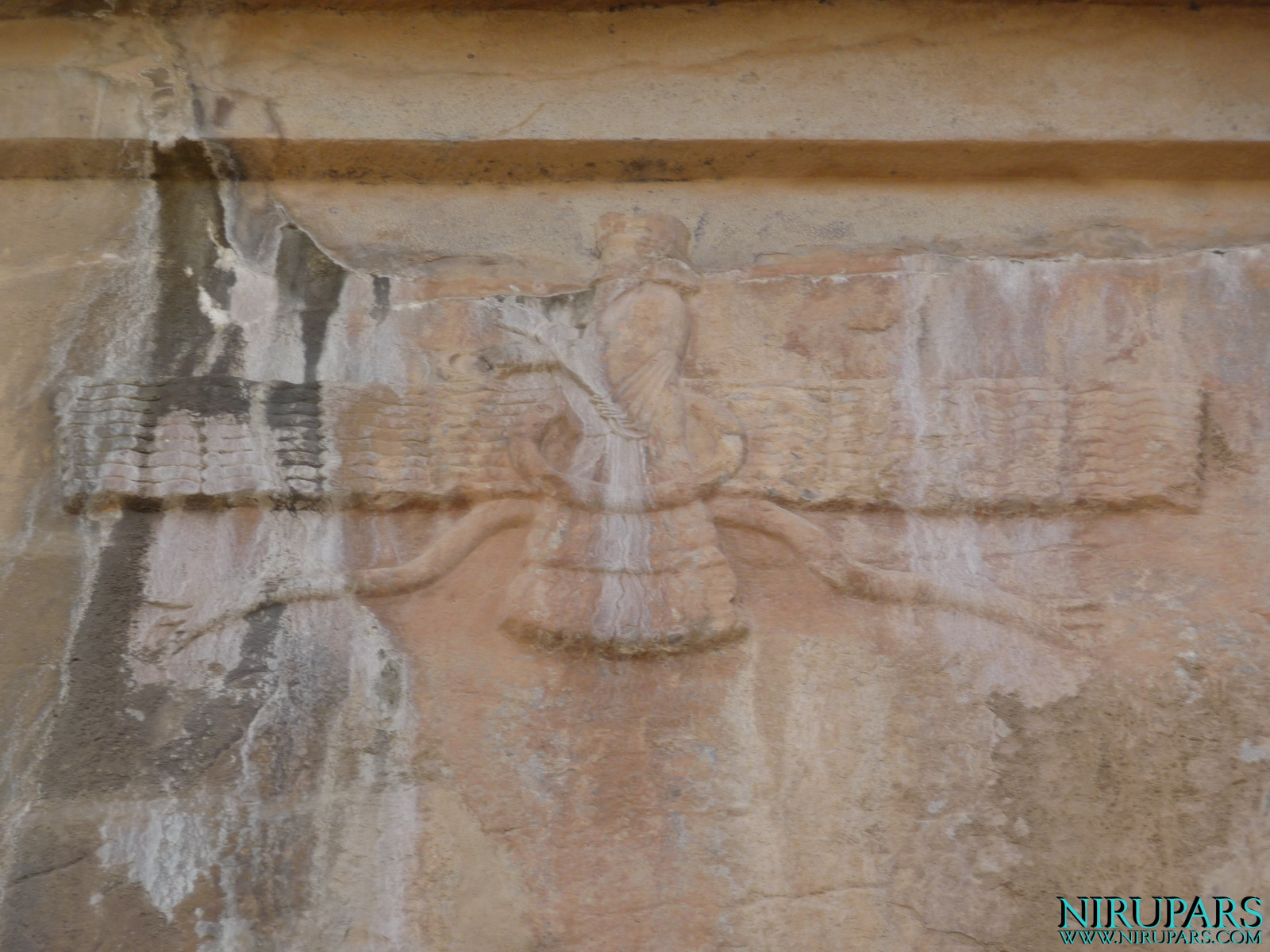 Persepolis - Tomb 1 - Relief Faravahar